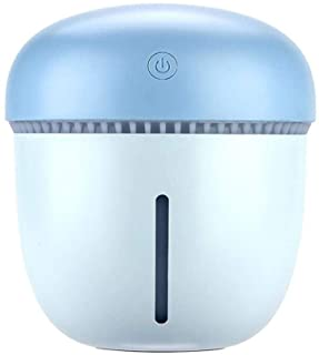 HEMFV Ultrasonic Cool Mist Humidifier | Quiet Operation | Portable Air Vaporizer Humidifier Anti-Drying (Color : Blue, Size : S)