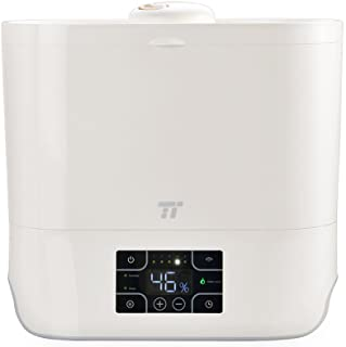 TaoTronics Ultrasonic Top Fill Humidifiers for Bedroom, Cool Mist Humidifier for Large Room, Wide Top Opening, Timer, Easy to Clean, 7-30 Hours, Humidity Control