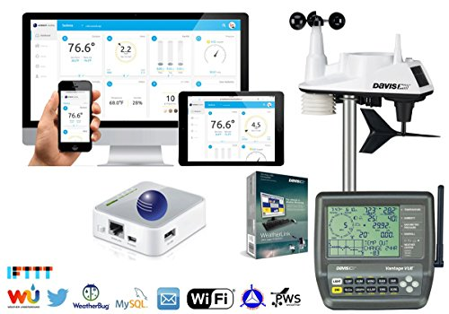 Davis Instruments 6250 WEATHERBRIDGE KIT WiFi Vantage Vue Wireless Weather Station