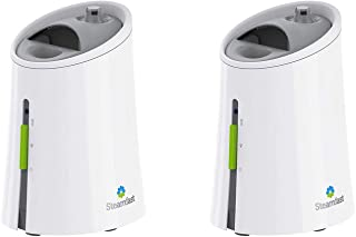 Steamfast Warm Air Steam Humidifier and Essential Oil Diffuser, White (2 Pack)