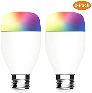 Smart LED Light Bulb 2 Pack