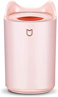 Giaogiao Cold Mist Humidifier, 3L Liters Portable Ultrasonic Air Humidifier, Essential Oil Diffuser, Suitable for Bedroom, Timer Function, Automatic Shut Off Humidifier,Colora