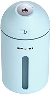 Zzrp Humidifier Dehumidifier Spray Aromatherapy USB Dehumidifier Three in One for Adult Child Pregnant Woman Household Air Humidifier,Blue