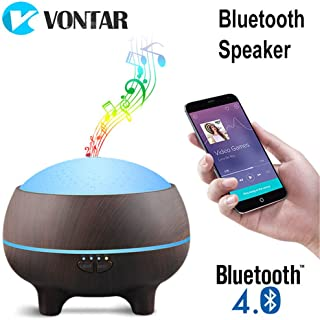 Xinjiahe 300 Ml Air Humidifier Bluetooth Speaker Wireless Music Player Essential Oil Diffuser Led Indoor Night Light,A