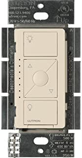 Lutron PD-5NE-LA ELV Caseta Wireless Electronic Low Voltage In-Wall Dimmer, 1 pack, Light Almond