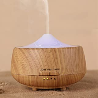 ZGSP Air Aromatherapy Machine, humidifier, ultrasonic Aromatherapy Machine, Solid Wood, Home, Office, Bedroom, White