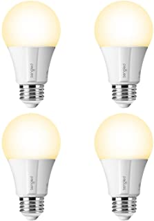 Sengled Smart LED Soft White (Element Classic) Bulb, Hub Required, 2700K, A19 60W Equivalent, Works With Alexa, Google Assistant & SmartThings, 4 Pack (Renewed)