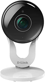 D-Link Indoor WiFi Security Camera, HD 1080p, Two-Way Audio, Motion Detection & Night Vision (DCS-8300LH-US) (Renewed)