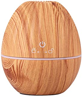 kaimu USB Ultrasonic Mute Mist Wood Grain Aromatherapy Humidifier Air Purifier Single Room Humidifiers