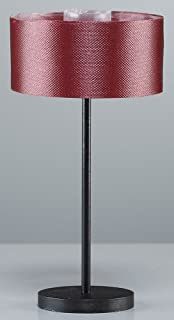 Rulke Rulke010238 Metal Base Floor Lamp with Fabric Screen, Multi Color