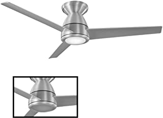 Modern Forms FH-W2004-44L-27-BA Tip Top Ceiling Fan, Brushed Aluminum