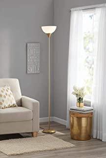 Mainstays Metal Floor Lamp, Gold