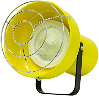 TPI Corporation LED-1 Lighthead with One Fixture, Includes 12 Watt LED Bulb, Use with TPI Modular Utility Lights, Yellow