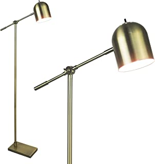 Mid Century Modern Floor Lamp by Light Accents Adjustable Cantilever Bright Standing Lamp Home Office Lamp Showroom Quality - 59