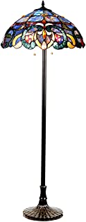 Chloe CH18091PV18-FL2 Nora Floor Lamp, One Size, Multicolor