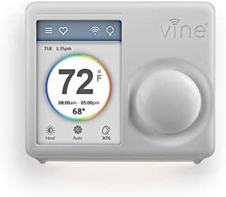 Vine WiFi 7day&8period Programmable Smart Home Thermostat - 3rd Gen
