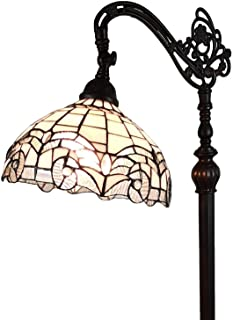 Amora Lighting Tiffany Style Floor Lamp Arched 62