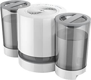 Vornado EV200 Evaporative Whole Room Humidifier with SimpleTank, 1.5 Gallon Capacity, White