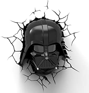 Eurobric 2000 - Lampe Murale 3D Deco Light Star Wars - Dark Vador - 8414834142300