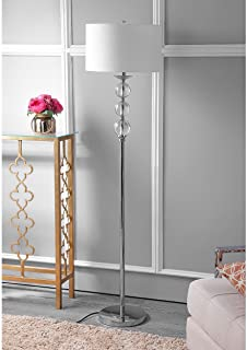 Safavieh Lighting Collection Pippa Glass Globe 62-inch Floor Lamp