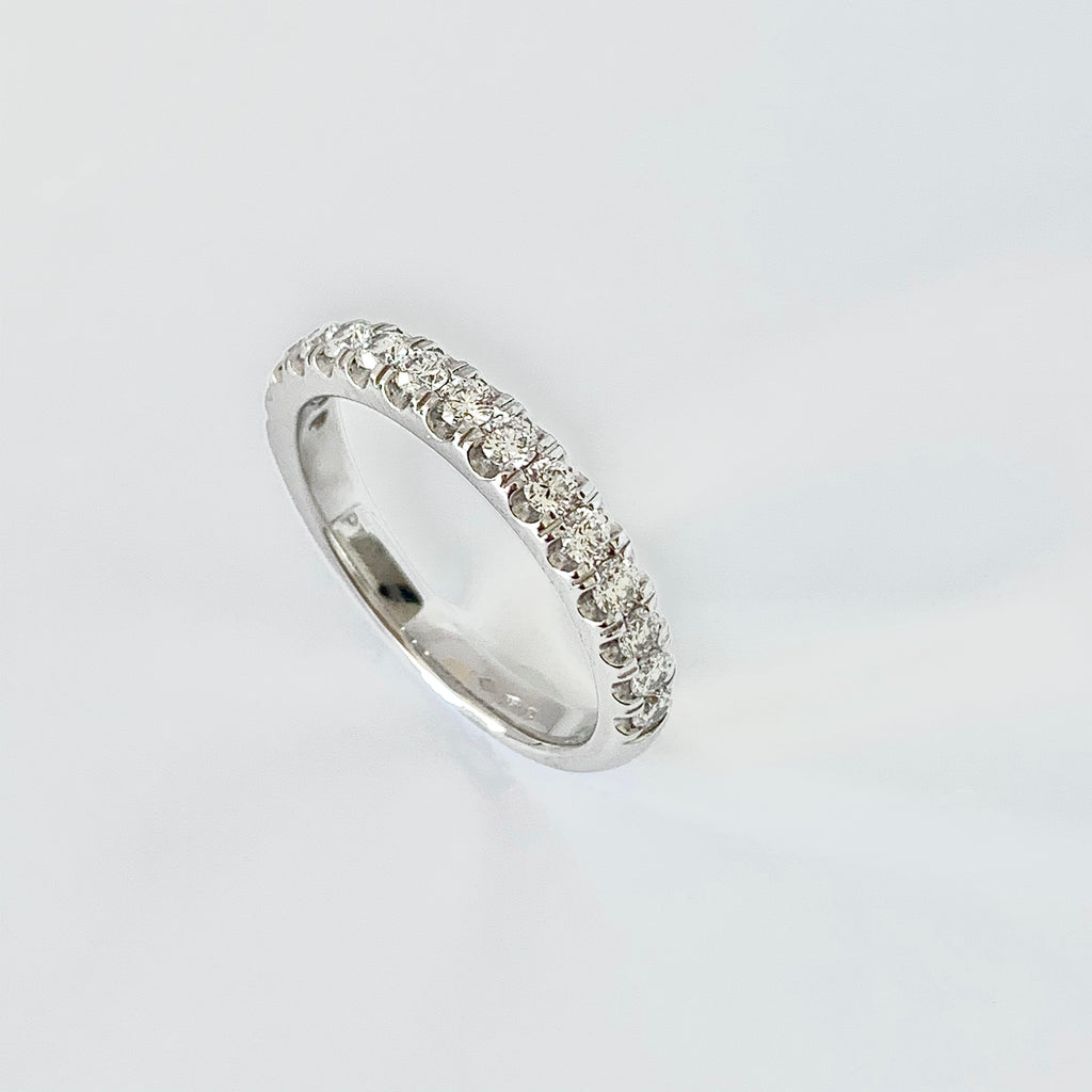 PLATINUM 50PT DIAMOND WEDDING RING