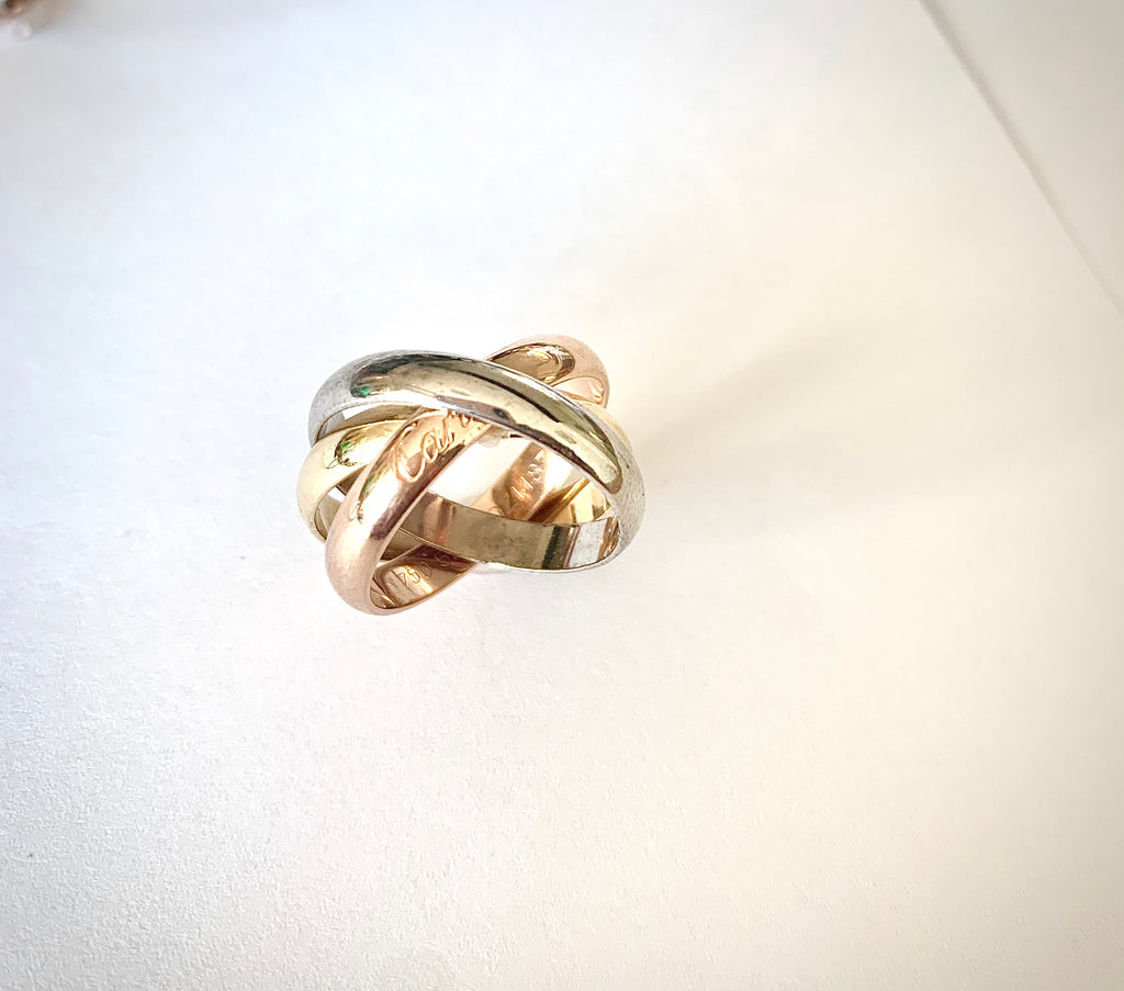 ORIGINAL CARTIER TRINITY RING