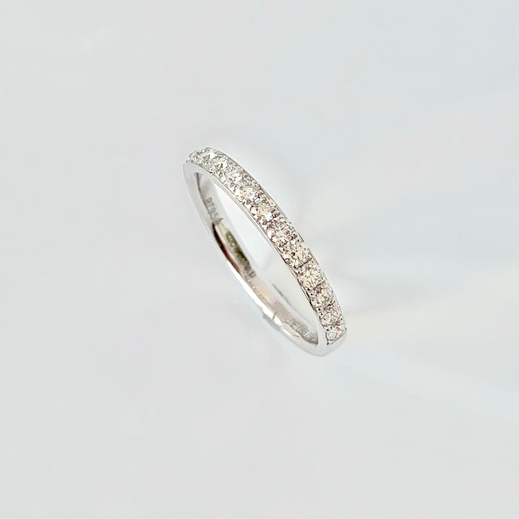 PLATINUM 40PT DIAMOND WEDDING RING