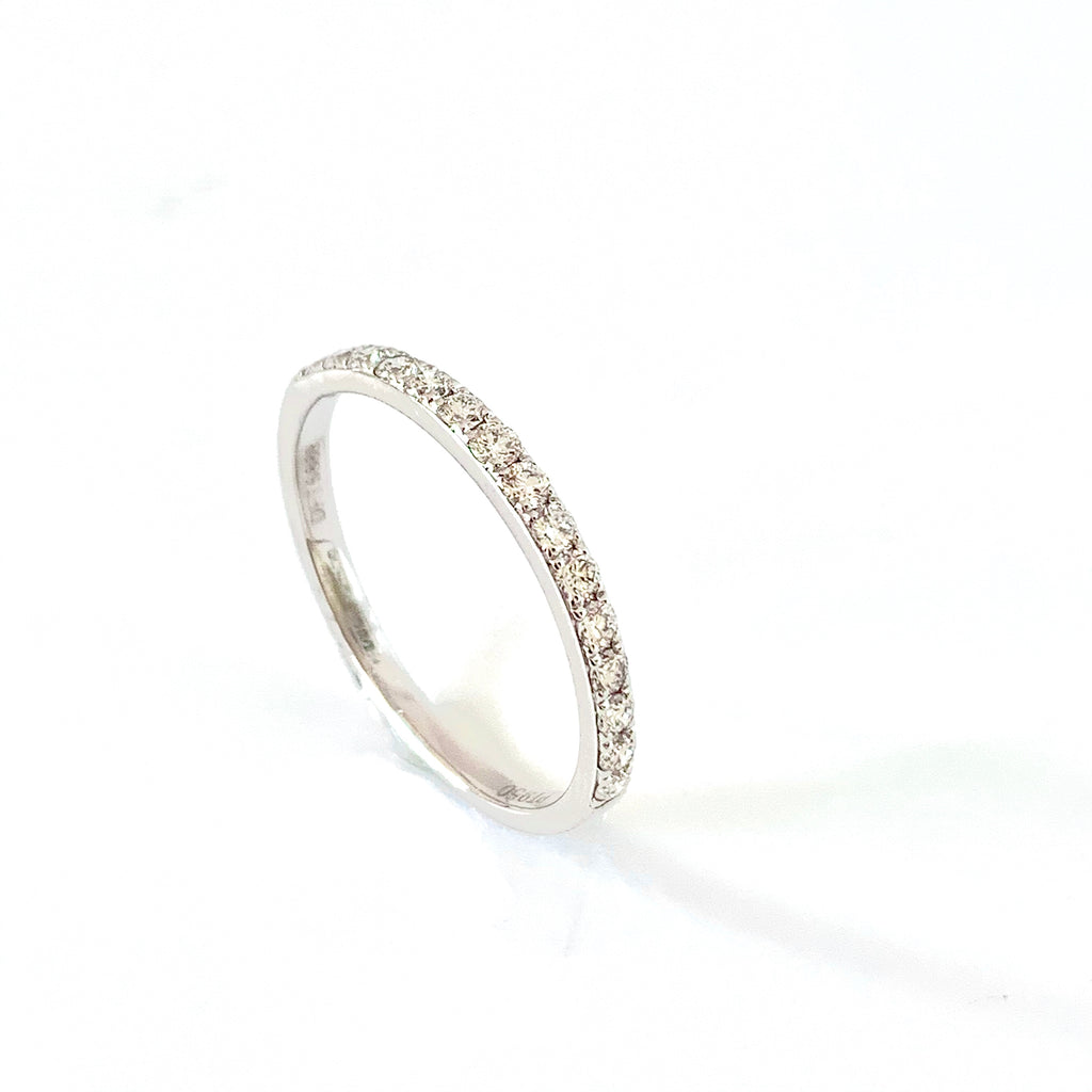 PLATINUM 25PT DIAMOND WEDDING RING
