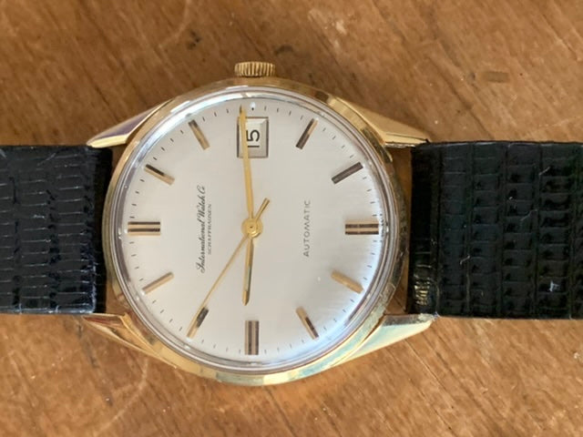 IWC Vintage 18ct Gold Automatic Watch