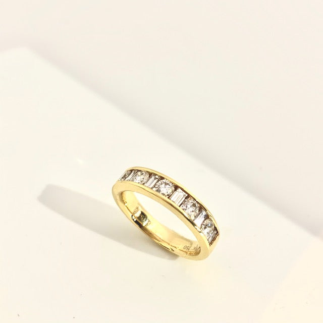 18CT DIAMOND ETERNITY RING 1.50CT