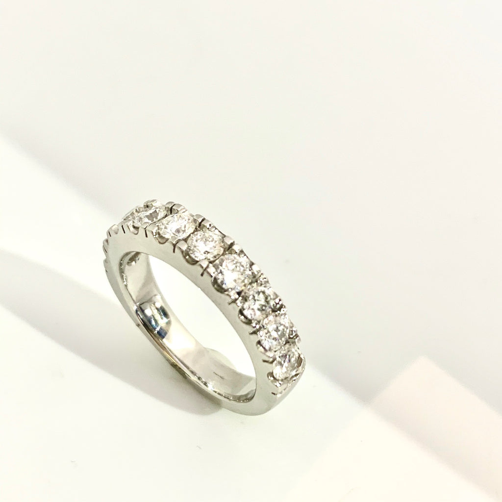 PLATINUM 1.50CT DIAMOND ETERNITY RING