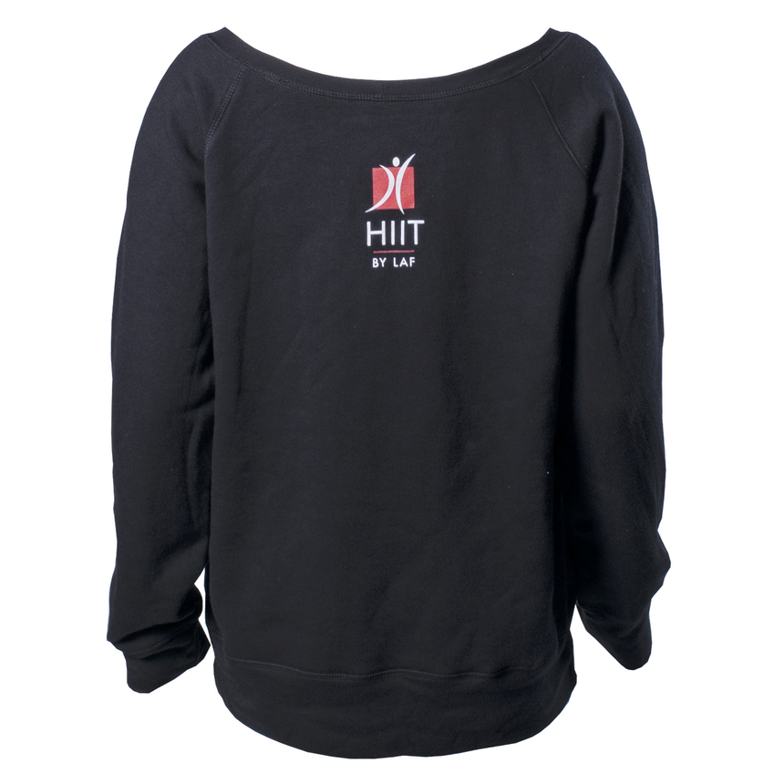 HIIT Sponge Wide Neck Fleece Sweatshirt