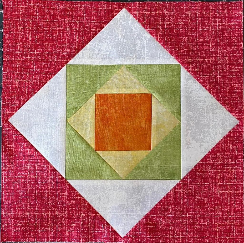 Block of the Week Block 13 Square in a Square