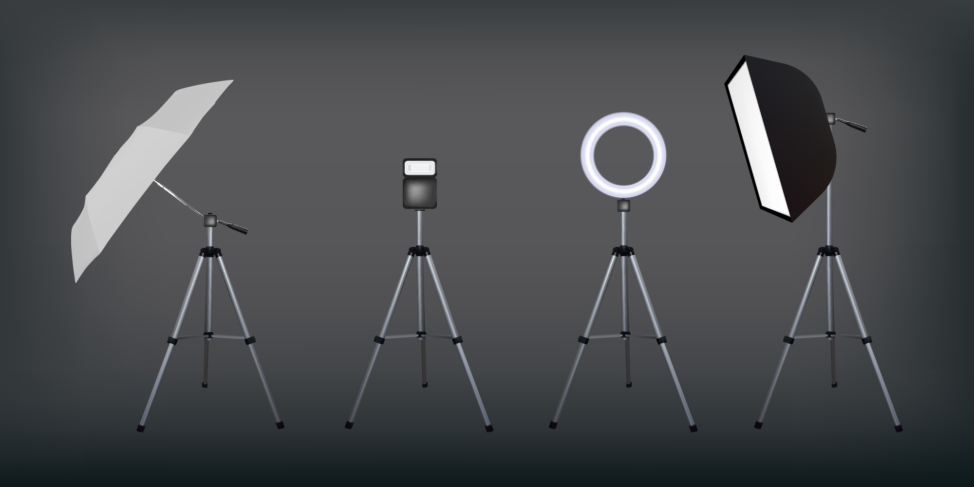 studio lighting kit image