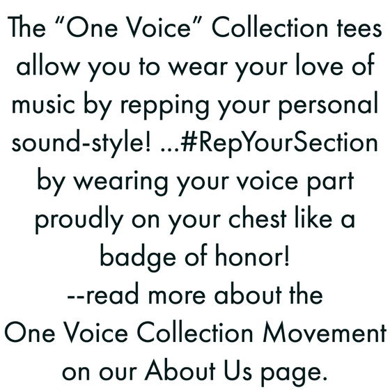 "ONE Voice ""All Sections"" T-Shirt"