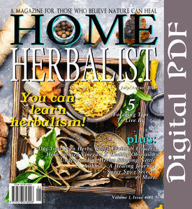 "Issue #001 ""You Can Learn Herbalism"""