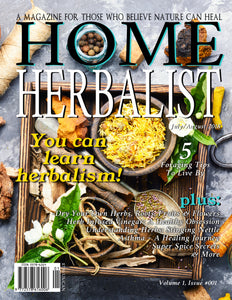 "PRINT Issue #001 ""You Can Learn Herbalism"""