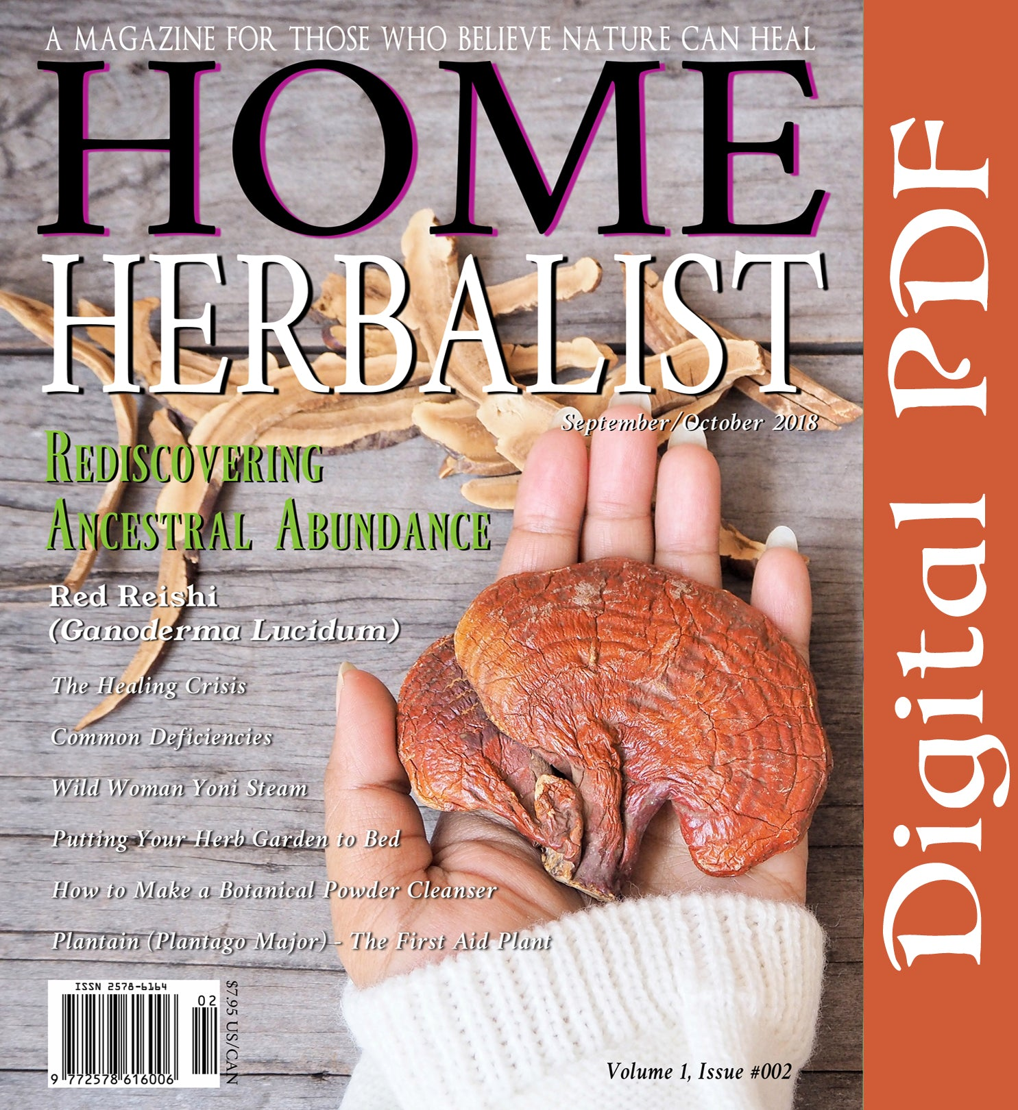 Issue #002 Rediscovering Ancestral Abundance