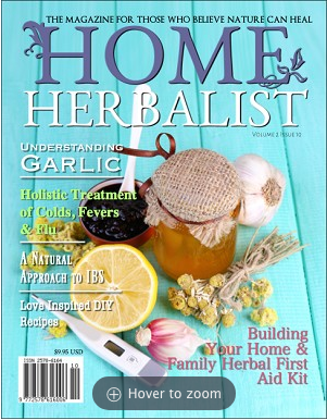 PRINT Issue #010 Building Your Home & Family Herbal First Aid Kit