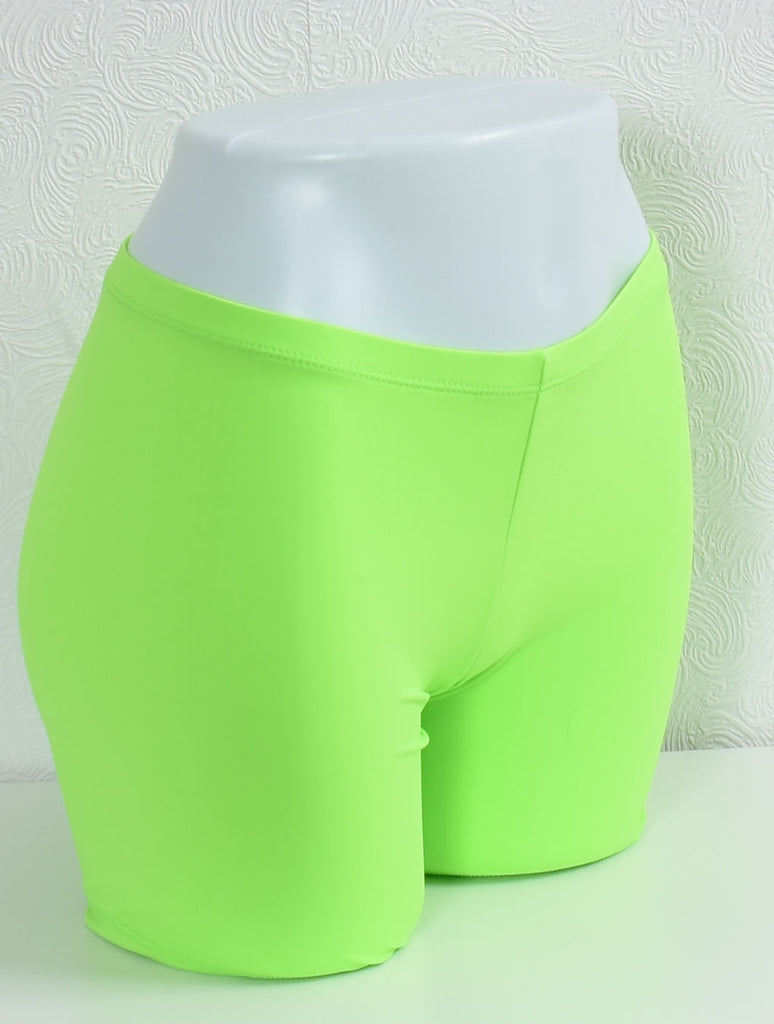 Compression Shorts- Lime
