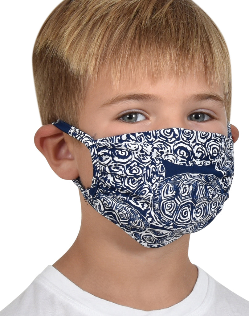 Kids Mask Navy Terps