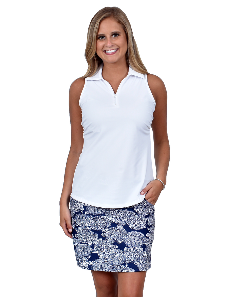 Fairway Skort in Navy Terps