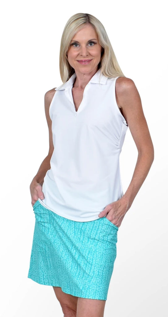 Fairway Skort - Seaglass