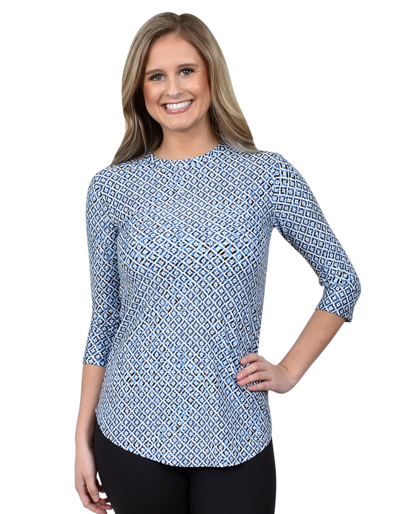 Tunic Top in Scales