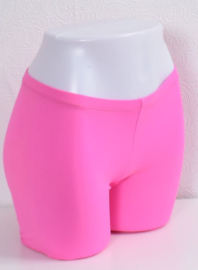 Compression Shorts- Hot Pink