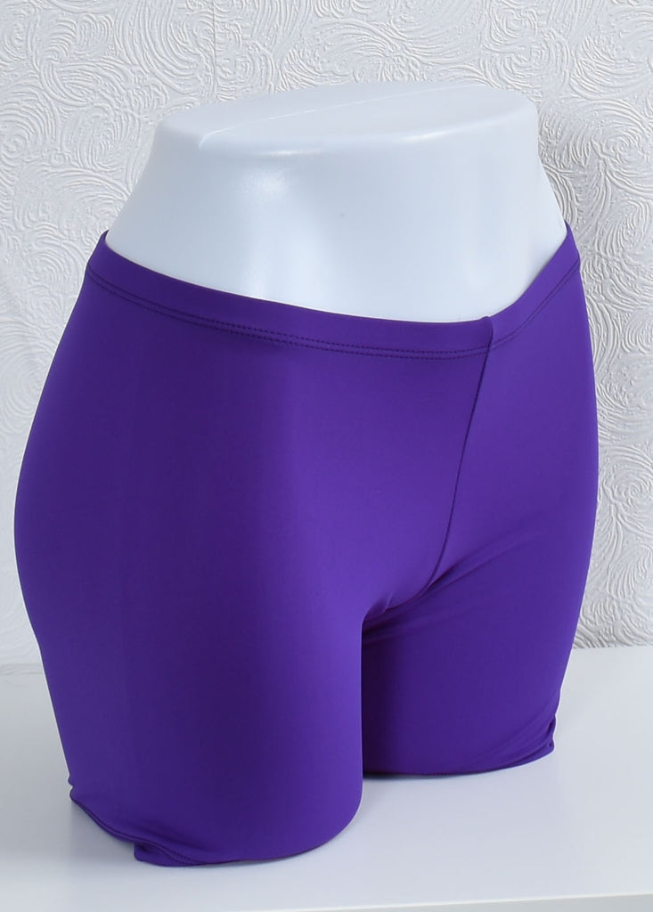 Compression Shorts- Purple