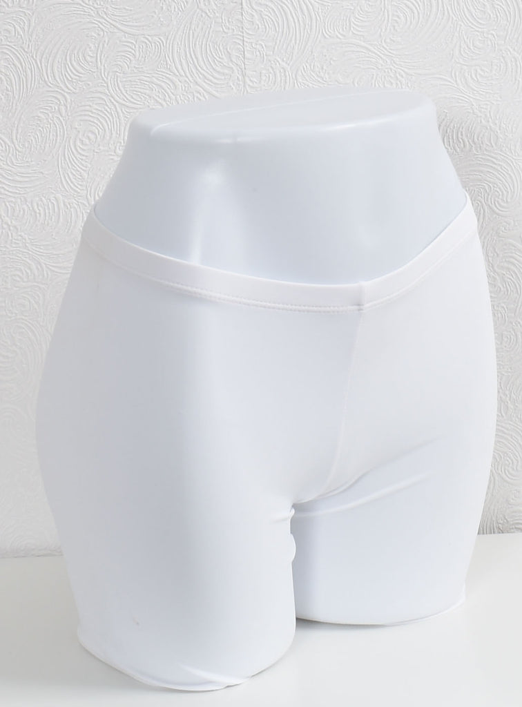 Compression Shorts- White