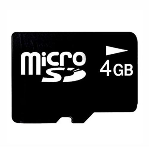 4GB pre-formatted MicroSD memory card (Ready to use for Columbus V-990 & V-900 GPS)