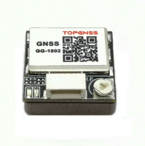 GG-1802 GNSS Receiver module (GPS+GLONASS, u-blox M8030-KT chipset, NMEA 0183 , UART/TTL Interface, built-in antenna, Ultra small, 7.2g only)