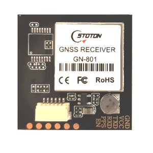 GN-801 GNSS Receiver Module (GPS+GLONASS, u-blox 8030-KT chipset, NMEA 0183, UART/TTL Interface, built-in antenna)